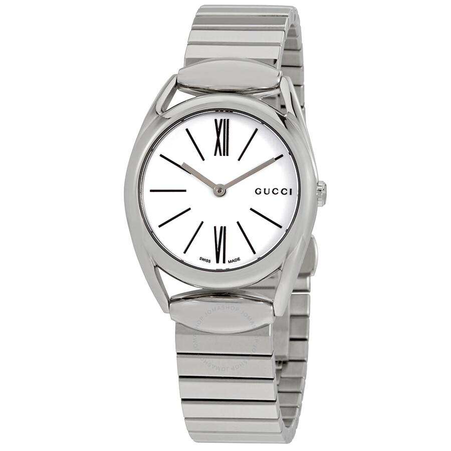 3bc750d24bb Gucci horsebit new small white dial ladies watch ya horsebit jpg 900x900 Gucci  watch with roman