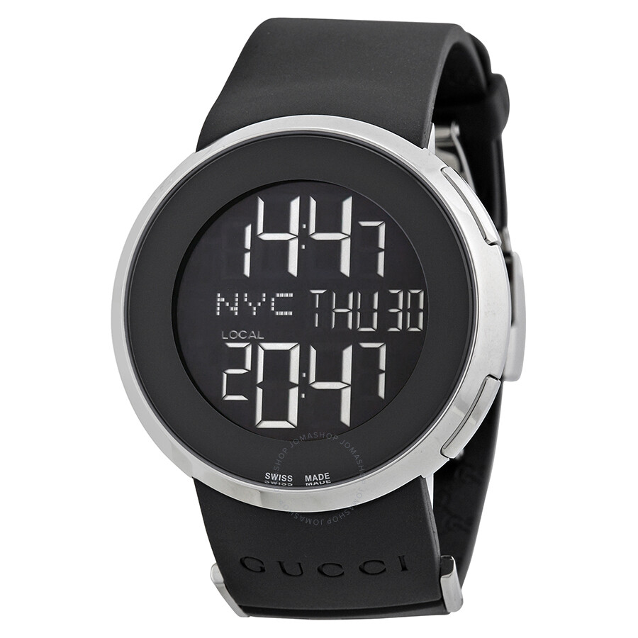 gucci i gucci digital black ya114401 i