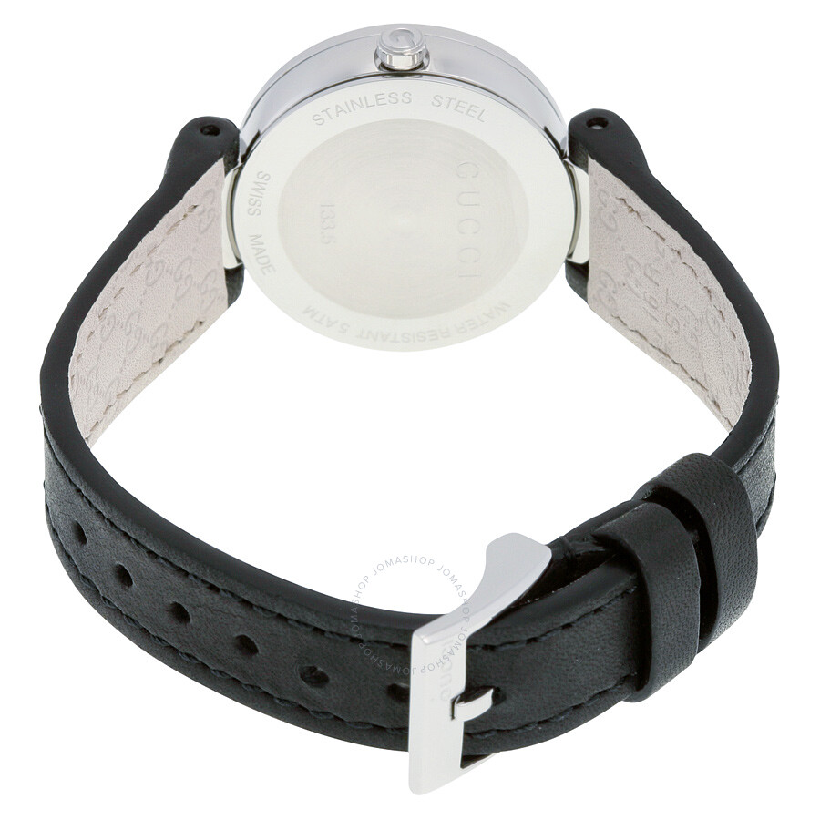 bdaa9bcb7b1 Gucci Interlocking G Black Dial Ladies Watch YA133501 - Interlocking ...