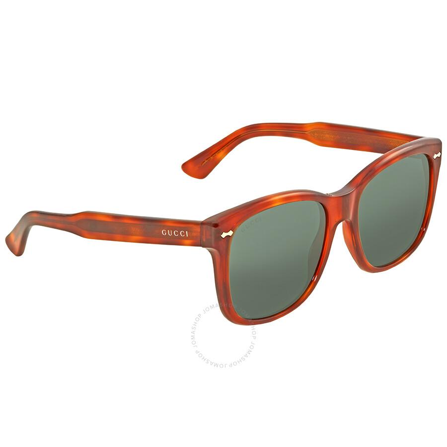 194e075b311 Gucci Light Havana Square Sunglasses - Gucci - Sunglasses - Jomashop