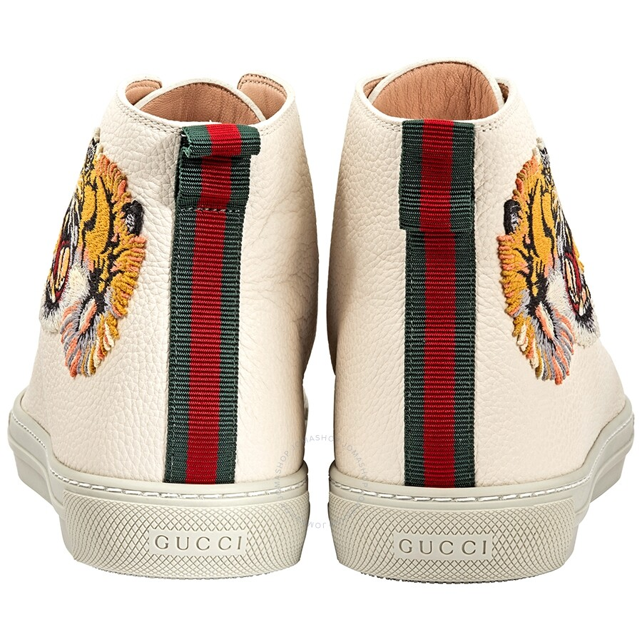 2277d3d99d Gucci Major High Top Leather Sneakers - Shoes - Fashion & Apparel ...