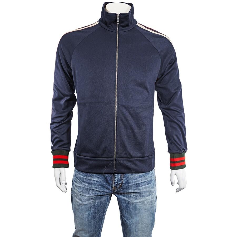 b01dbb06b Gucci Men s Technical Jersey Jacket- Size M Item No. 474634 X5T39 4953 M