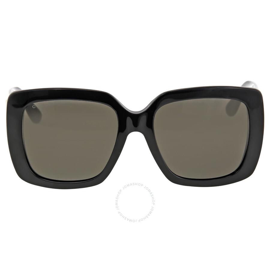 6c0f59d6651 Gucci Oversized Black Sunglasses