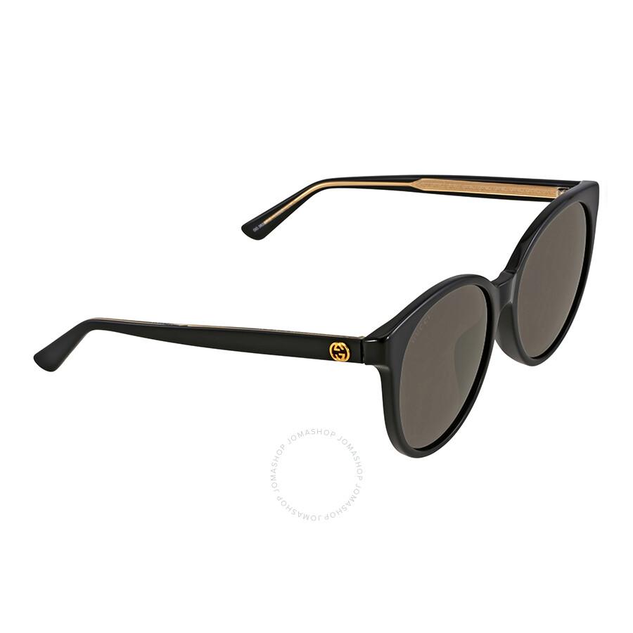 Gucci Panthos Black Frame Ladies Sunglasses GG3833/F ...