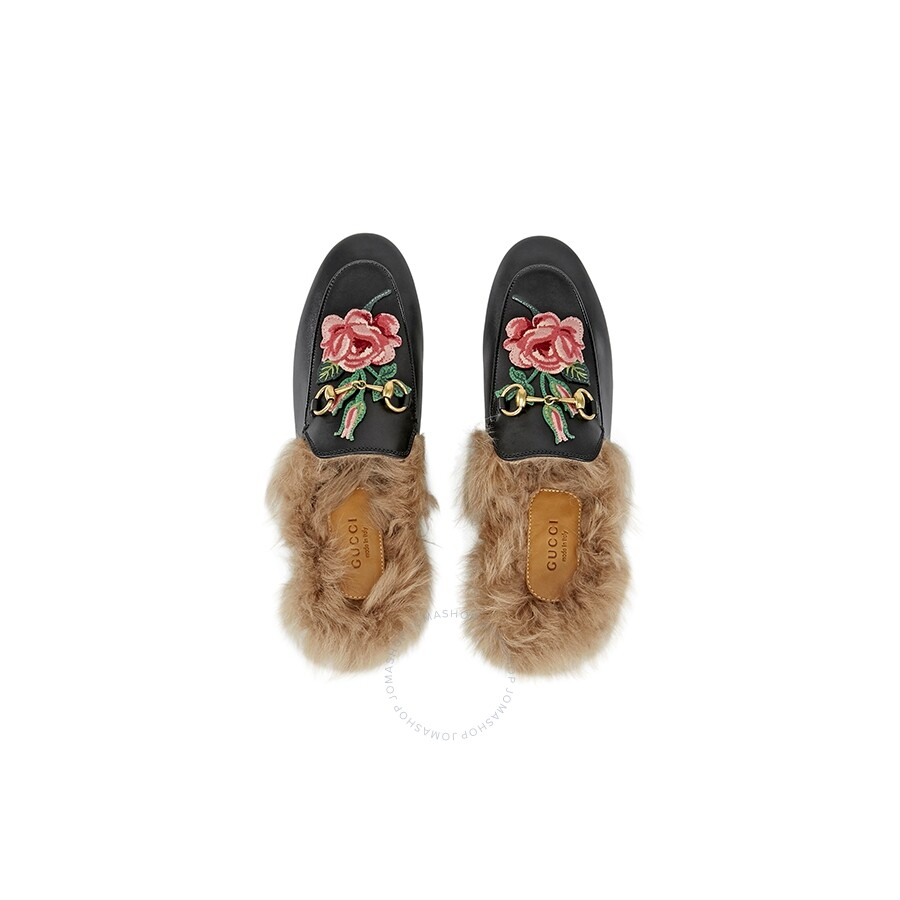 cdebba25857f6 ... GC448562DKHH01063 Gucci Princetown Floral Embroidered Slippers  GC448562DKHH01063 ...