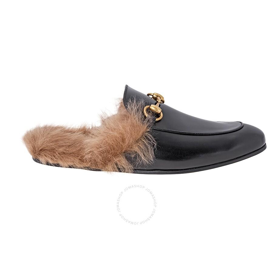 301e9d3f534 Gucci Princetown Leather Slipper- Size  8 Item No. 397647 DKHH0 1063 8