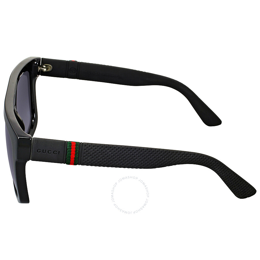 gucci glasses mens. gucci rectangle dark grey gradient men\u0027s sunglasses gg1116/sm1v90 glasses mens