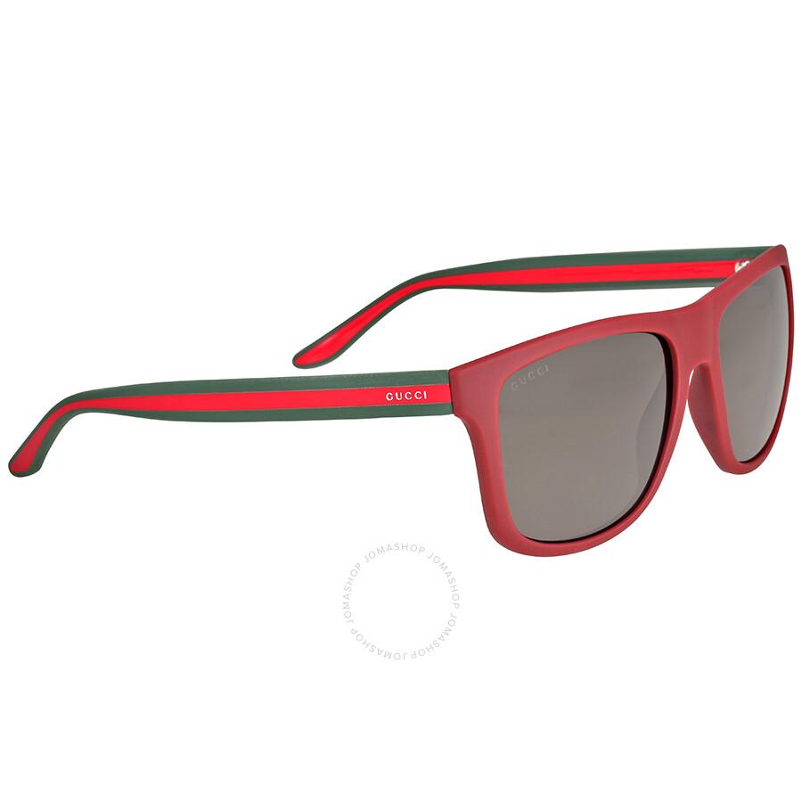 32d0d27fc9f Gucci Red Nylon Sunglasses - Gucci - Sunglasses - Jomashop