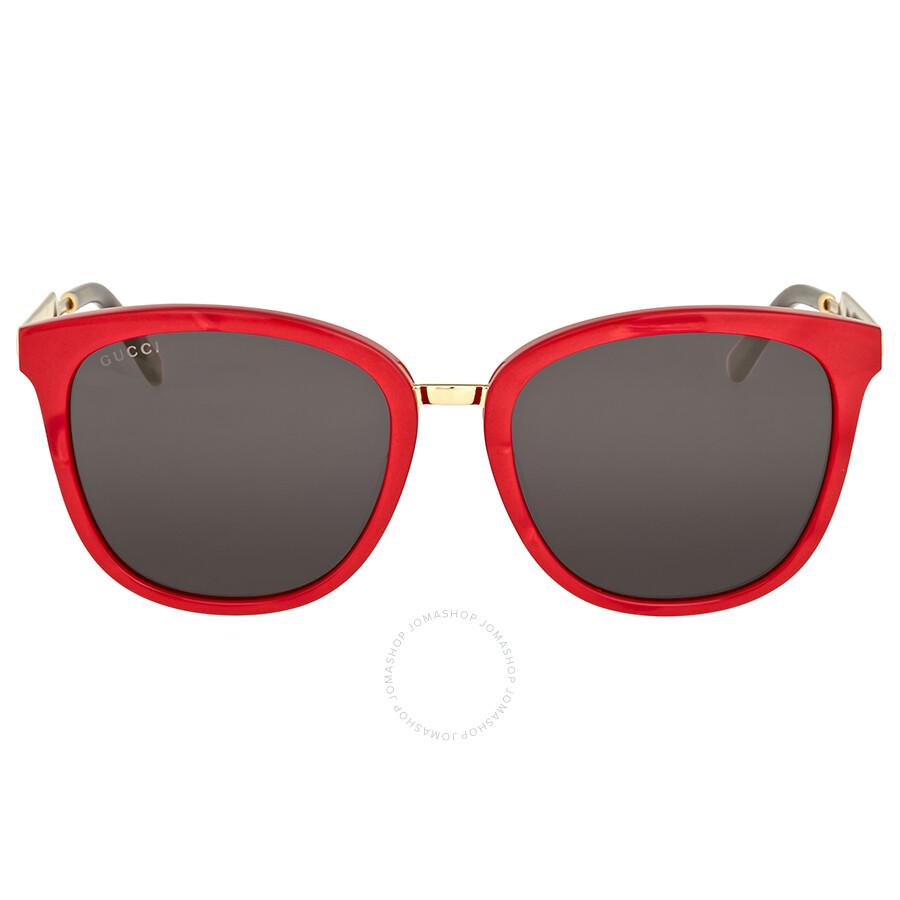 3586288a6f9 Gucci Red Square Sunglasses - Gucci - Sunglasses - Jomashop