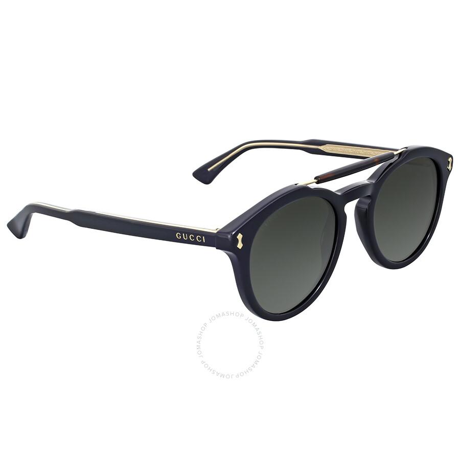 0a6ab29c9f Gucci Round Black Sunglasses Gucci Round Black Sunglasses ...