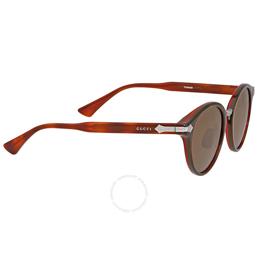 ad8ba79c1a Gucci Round Blonde Havana Sunglasses Gucci Round Blonde Havana Sunglasses  ...