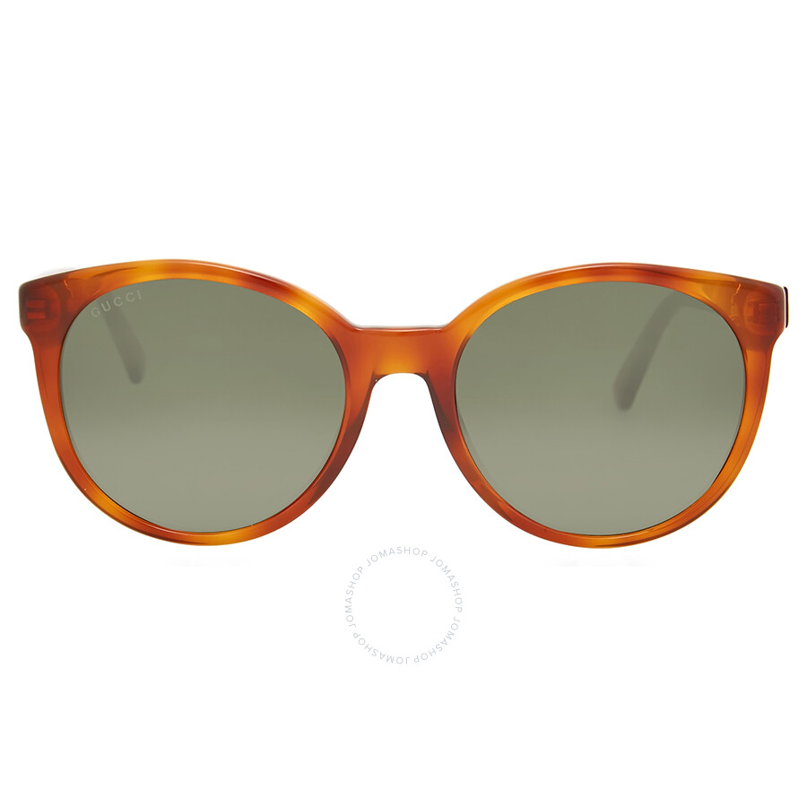 c54490501e Gucci Round Brown Havana Sunglasses - Gucci - Sunglasses - Jomashop
