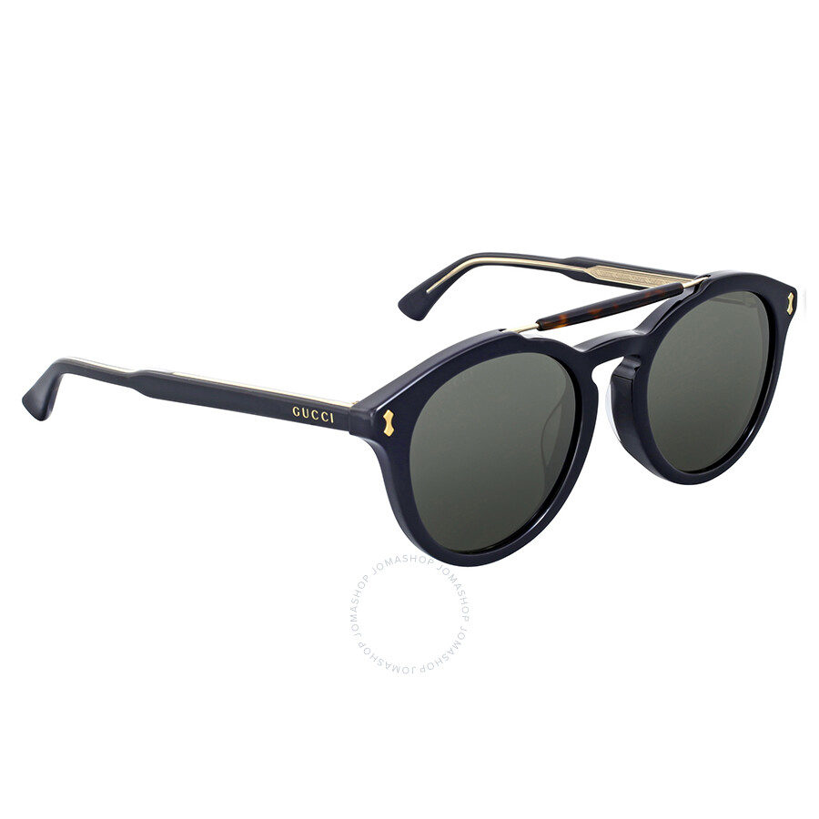 781dfd0bb77 Gucci Round Dark Havana Crystal Sunglasses - Gucci - Sunglasses ...