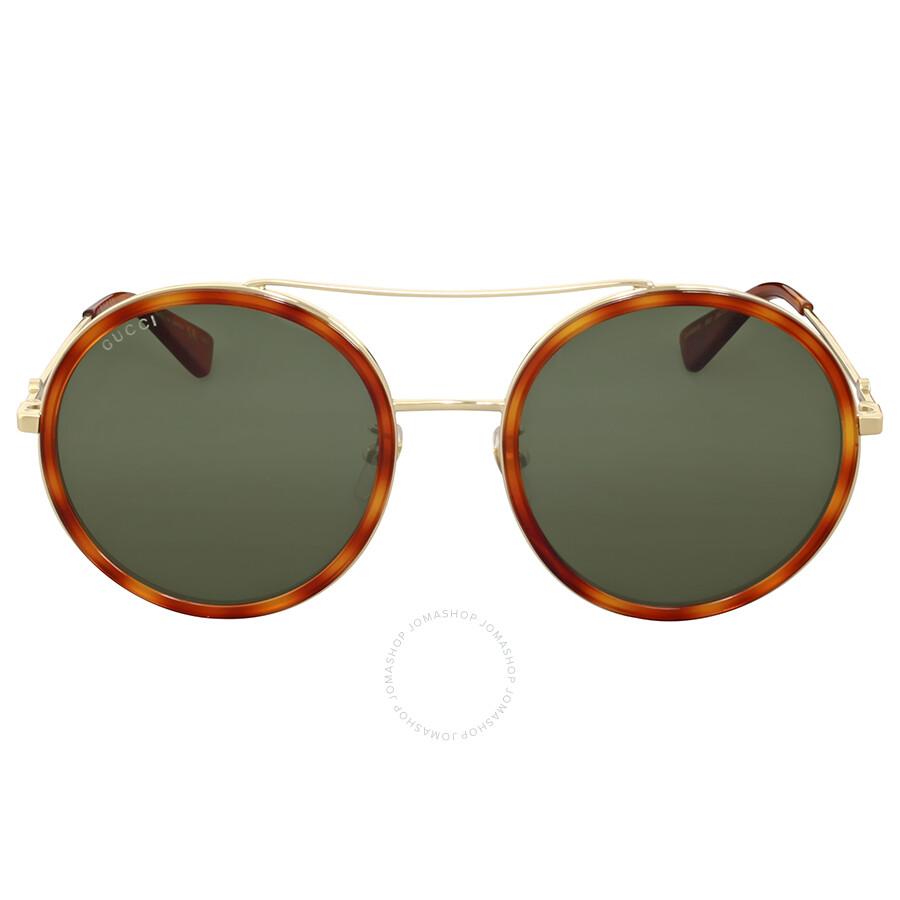3e93525c17 Gucci Round Metal Havana Sunglasses Gucci Round Metal Havana Sunglasses ...