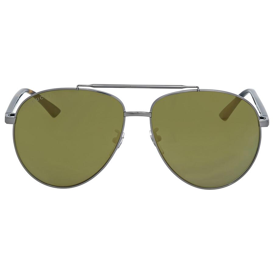 ab8274af3e166 Gucci Ruthenium Aviator Sunglasses Gucci Ruthenium Aviator Sunglasses ...