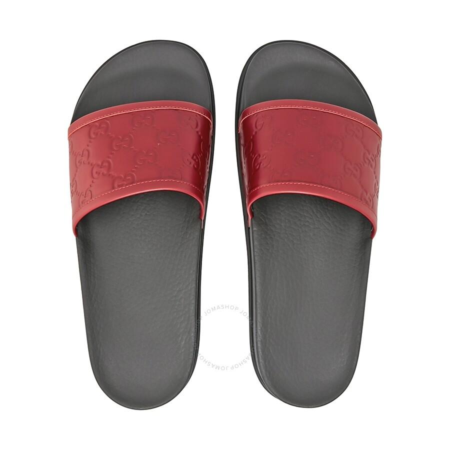 d25137a9d Gucci Signature Slide Sandal - Shoes - Fashion & Apparel - Jomashop