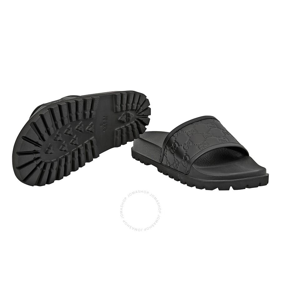 f76ff14d44e3 Gucci Signature Slide Sandal- Size 5 - Shoes - Fashion   Apparel ...