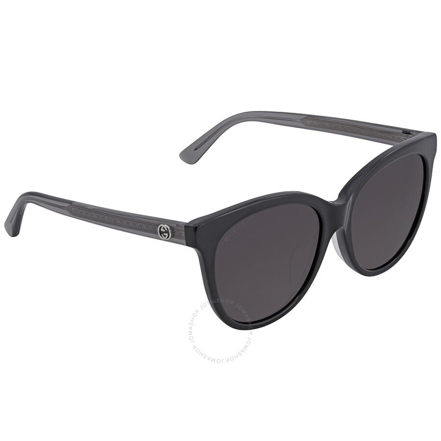 80b1c83f84 Gucci Smoke Cat Eye Sunglasses - Gucci - Sunglasses - Jomashop