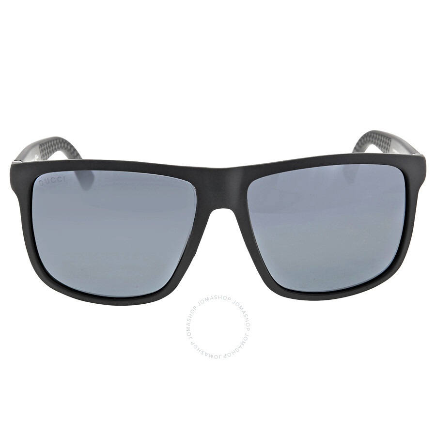 3114aff5506 Gucci Square-Shape Aluminum and Injected Men s Sunglasses GG 1075   DL5 4X  ...