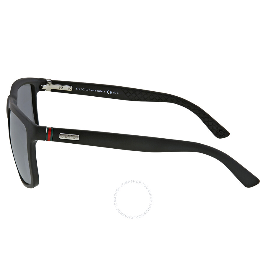 a521001bc2b ... Gucci Square-Shape Aluminum and Injected Men s Sunglasses GG 1075   DL5  4X ...