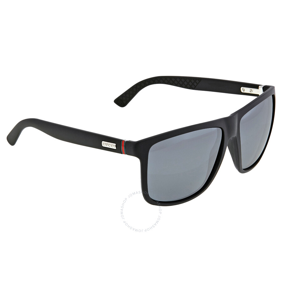 39a3743e186f2 ... Gucci Square-Shape Aluminum and Injected Men s Sunglasses GG 1075   DL5  4X ...