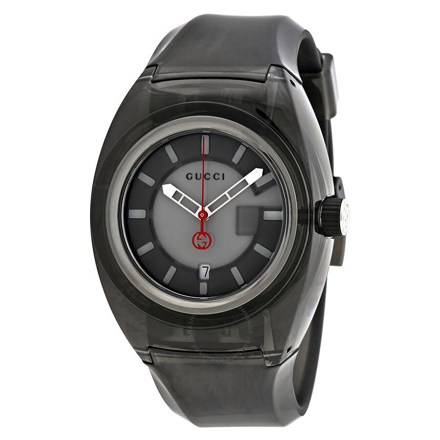 b5b68e7becd Gucci Sync XXL Grey Dial Men s Watch YA137111 - Gucci - Watches ...