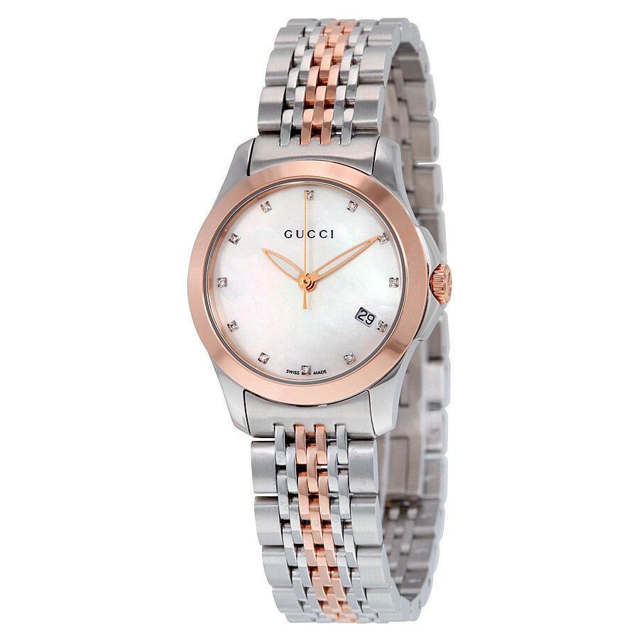 Gucci Diamond Watch Ladies