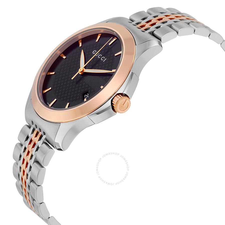 80746e8b04e Gucci Timeless Rose Gold PVD Men s Watch YA126410 - G-Timeless ...