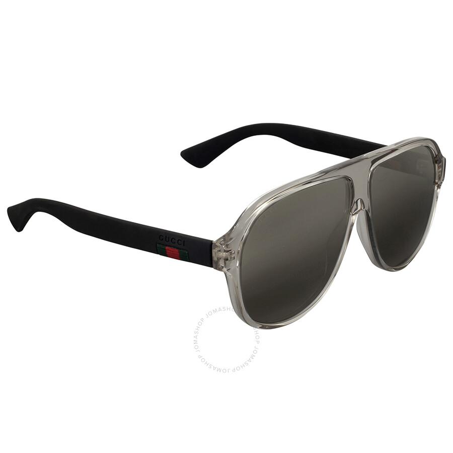 55580af8e4c Gucci Translucent Aviator Sunglasses - Gucci - Sunglasses - Jomashop