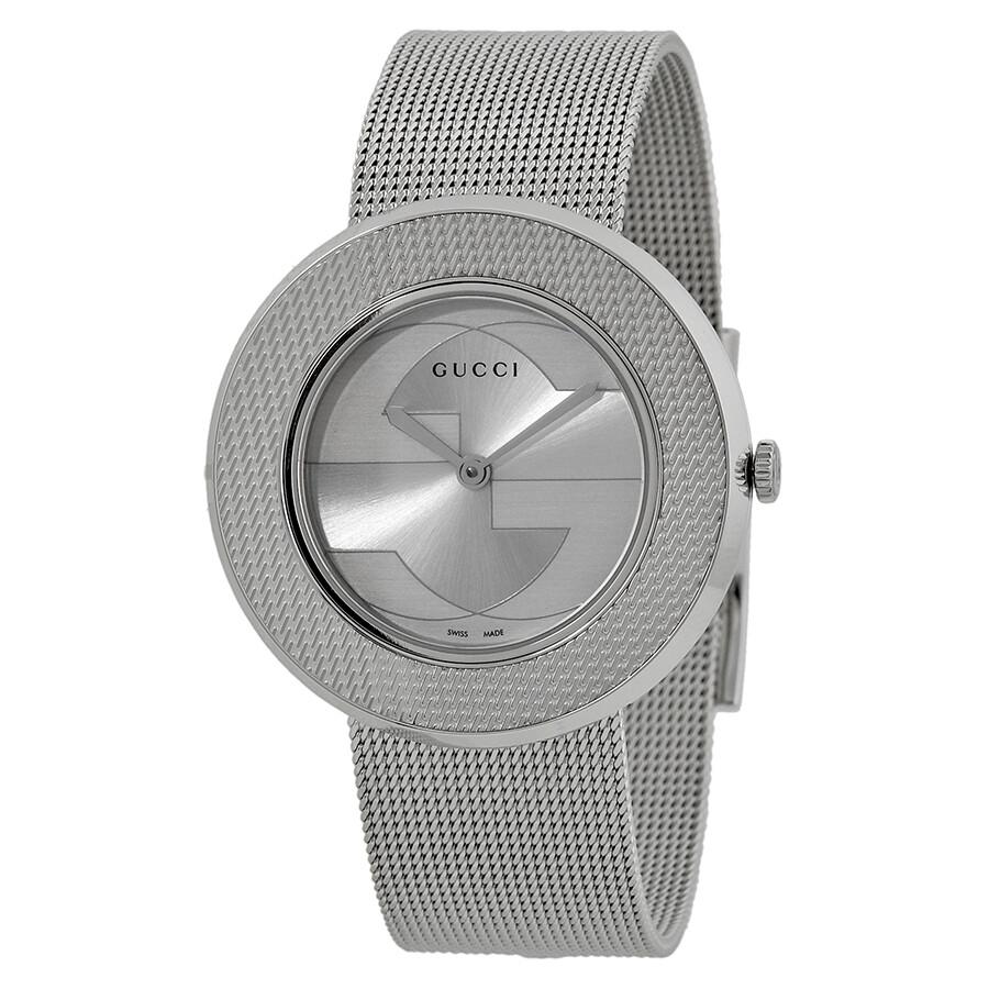 3b1792a73ef Gucci U-play Silver Ladies Watch YA129407 - U-Play - Gucci - Watches ...