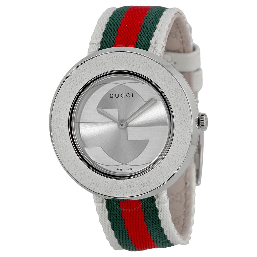 545040525c4 Gucci U Play Silver-tone Dial Ladies Watch YA129411 - U-Play - Gucci ...