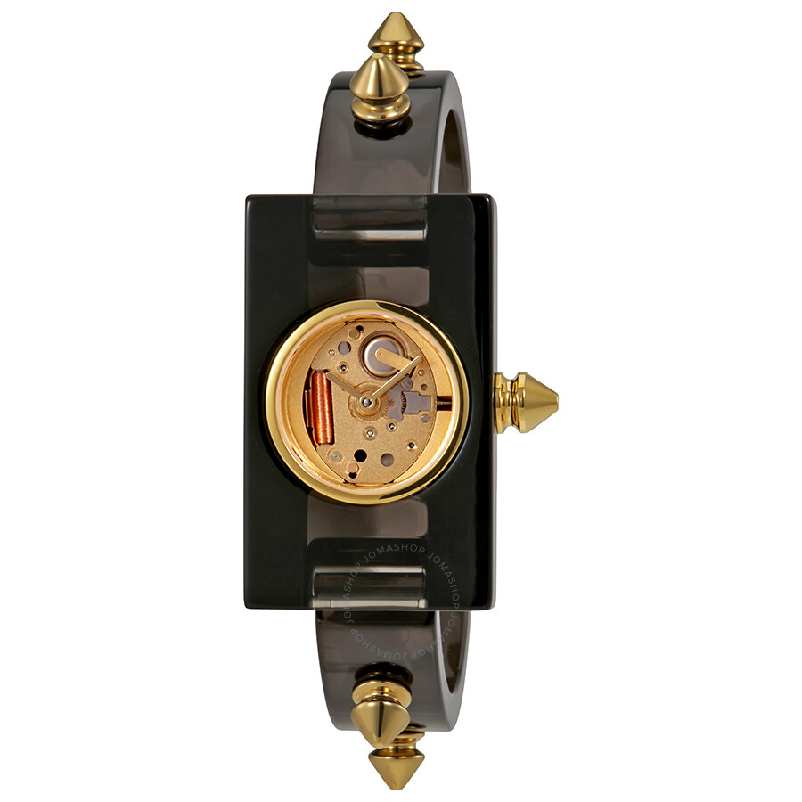 2add0d5971b Gucci Vintage Web Gold Skeletal Dial Ladies Watch YA143508 - Gucci ...