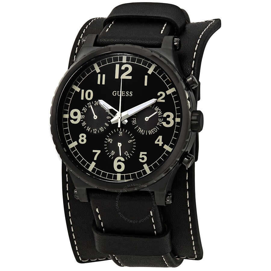 6a7c8168b2d Guess Black Dial Men's Multifunction Watch W1162G2