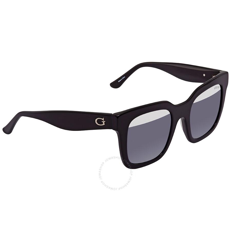 Black Sunglasses Gu7478 Square 01a Guess 50 fgb7Y6yv