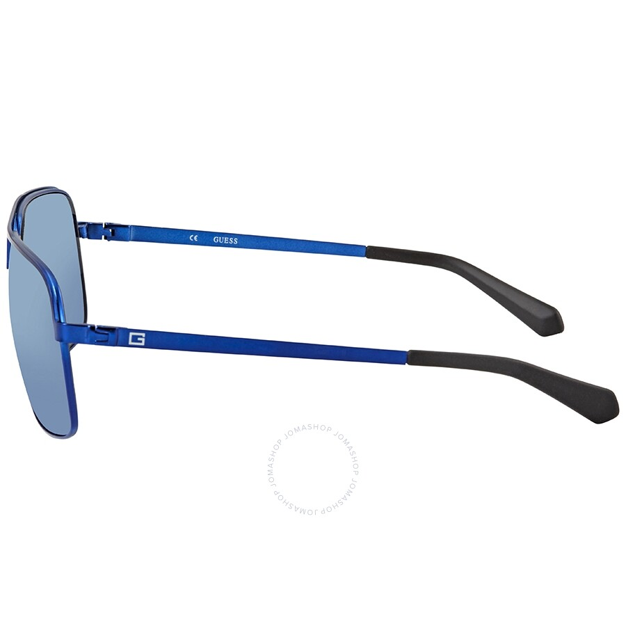 358ce6176 Guess Blue Mirror Aviator Sunglasses GU6840 91X 63 - Guess ...