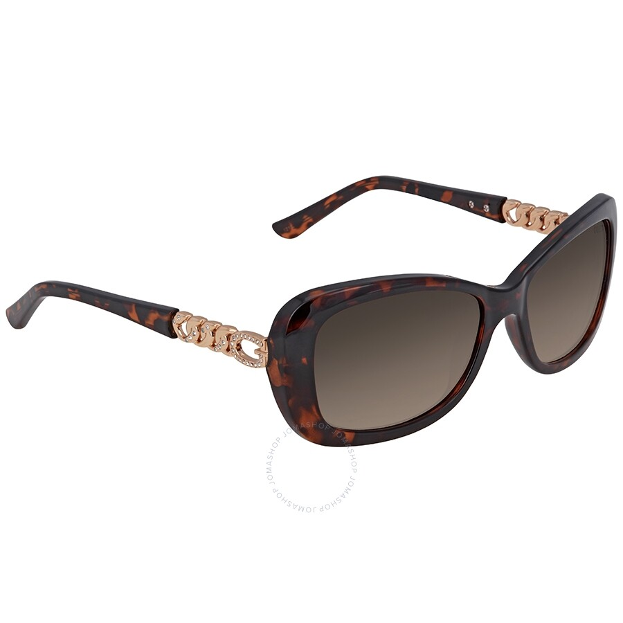 821514668587 Guess Brown Gradient Square Sunglasses GU7453 52F 56 - Guess ...
