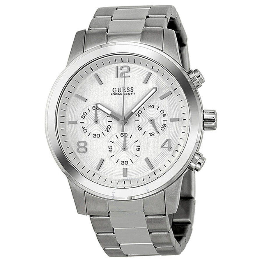 0ece367e015f8 Guess Chronograph Stainless Steel Men's Watch U13577G1