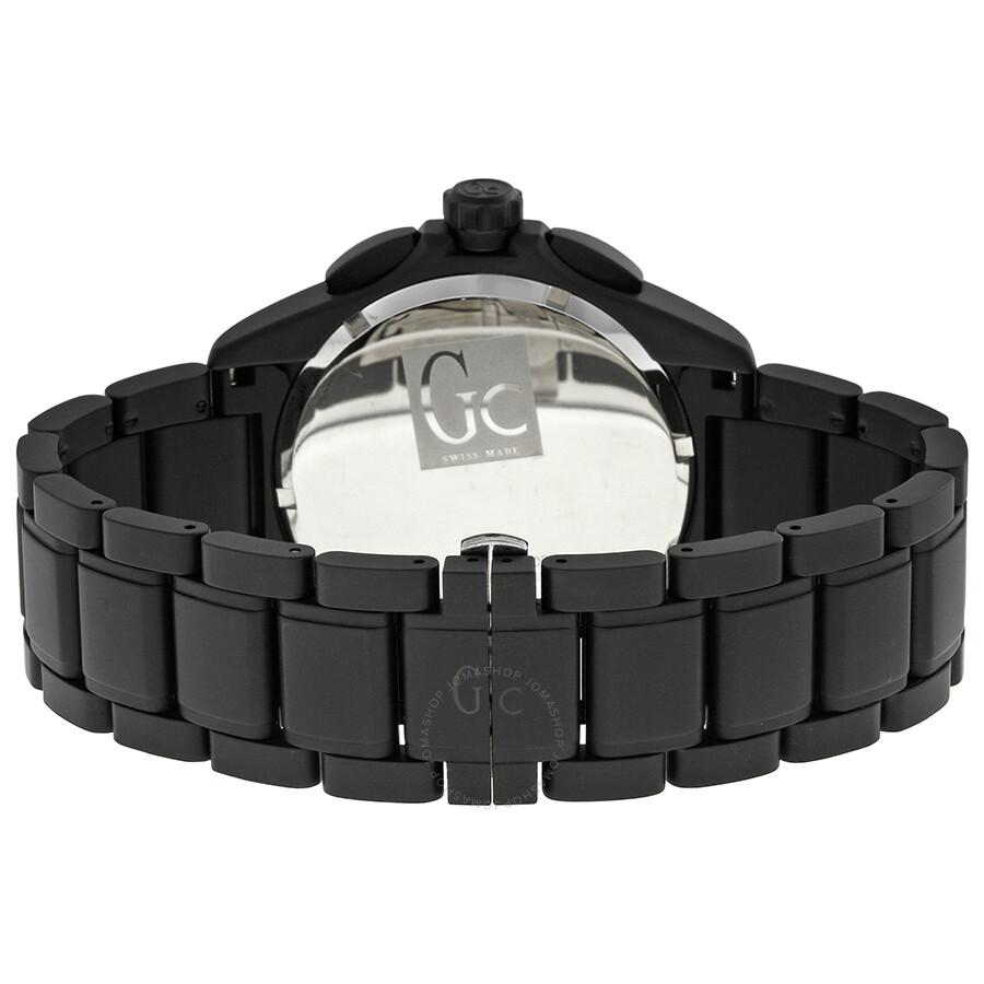 269b4aea8 Guess GC Sport Class XXL Blackout Ceramic Men's Watch X76010G2S - GC ...