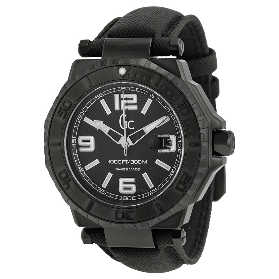 guess gc 3 collection black dial white accent men s watch guess gc 3 collection black dial white accent men s watch x79011g2s