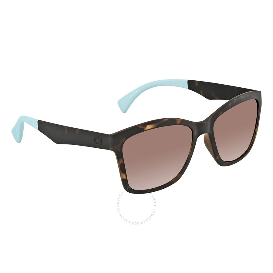 467522f28a83 Guess Gradient Brown Square Sunglasses GU7434 52F 56 - Guess ...