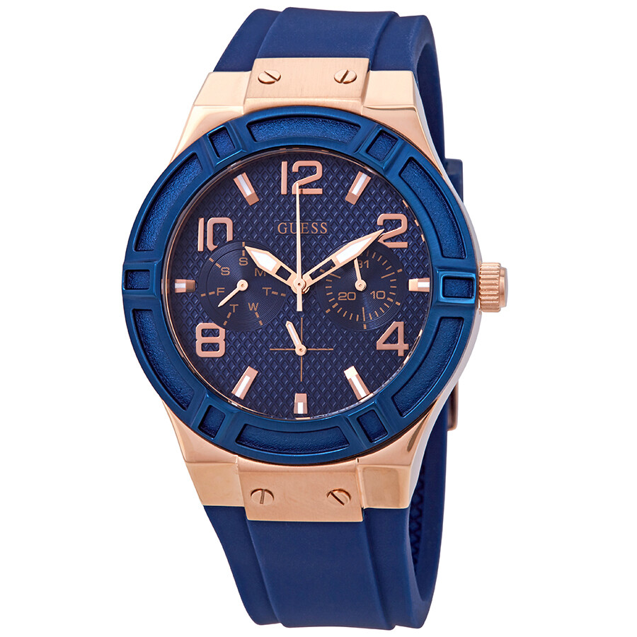 6799c7270 Guess Jet Setter Blue Dial Ladies Watch W0571L1 - Guess - Watches ...