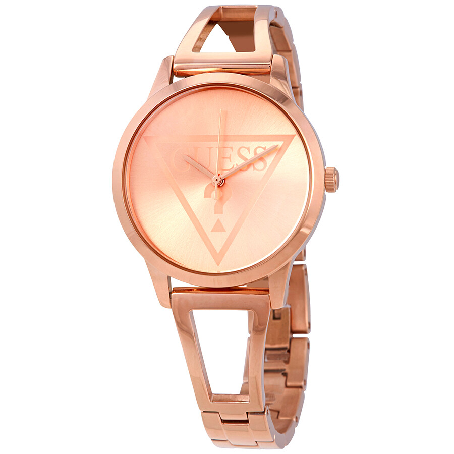 086c70768272 Guess Lola Rose Gold Dial Ladies Watch W1145L4 - Guess - Watches ...