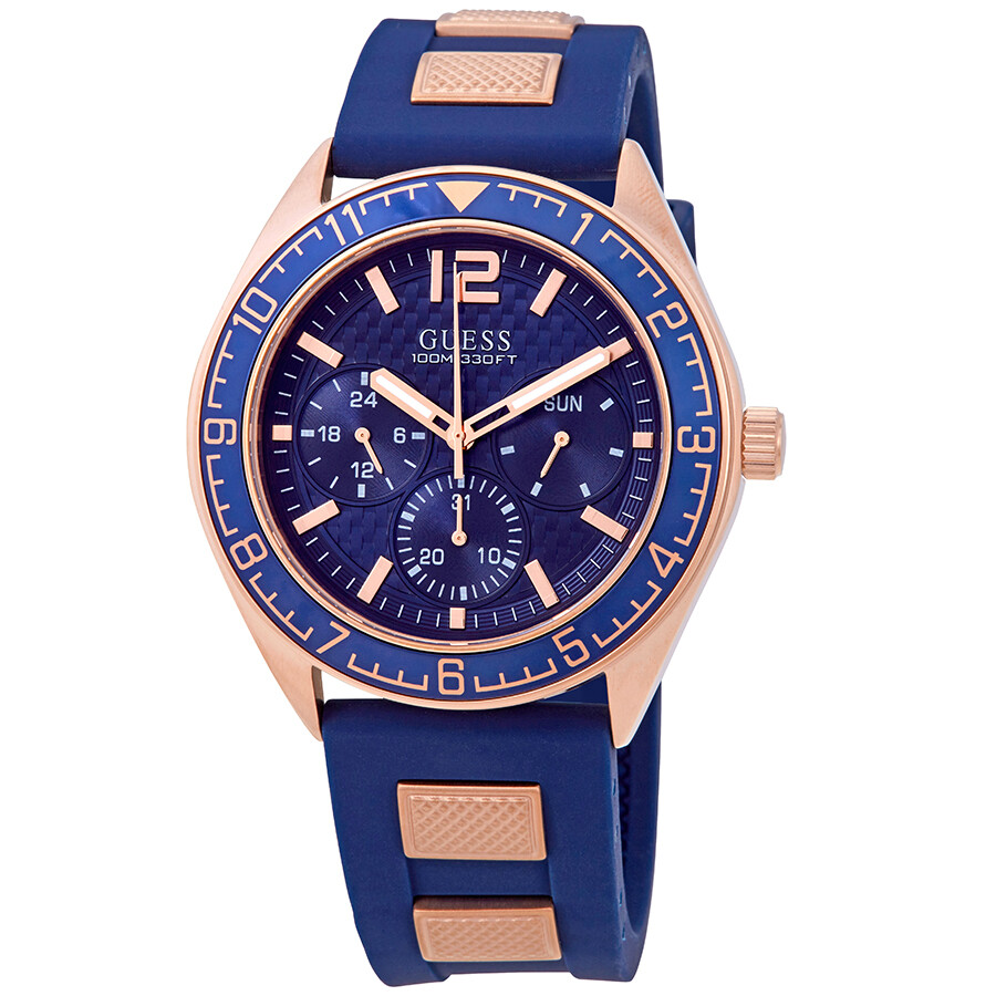 8d5444ed7 Guess Pacific Blue Dial Men's Watch W1167G3 - Guess - Watches - Jomashop