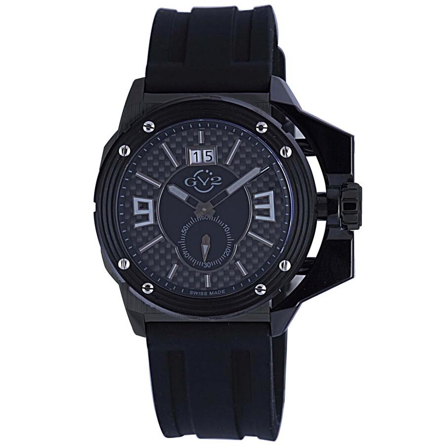 Gv2 by gevril grande black dial men 39 s watch 9401 gv2 by gevril watches jomashop for Gevril watches