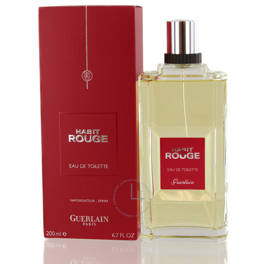 habit rouge guerlain edt spray 6 7 oz 200 ml m jomashop. Black Bedroom Furniture Sets. Home Design Ideas