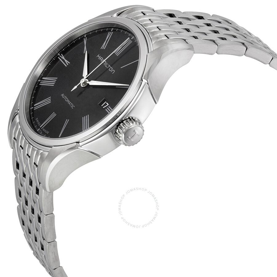 Hamillton Valiant Black Dial Stainless Steel Men's Watch H39515134