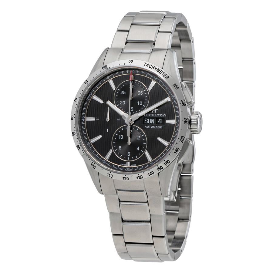 a0db4d4fe Hamilton Broadway Auto Chrono Grey Automatic Men's Watch H43516131 ...