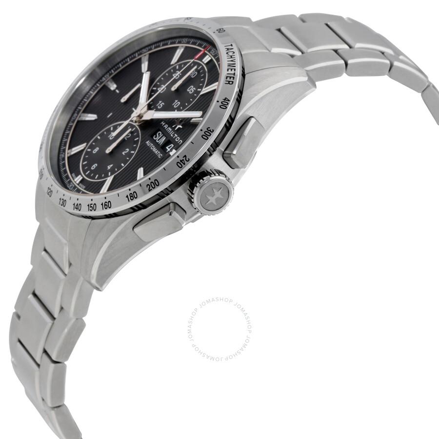 823c102bb ... Hamilton Broadway Auto Chrono Grey Automatic Men's Watch H43516131 ...