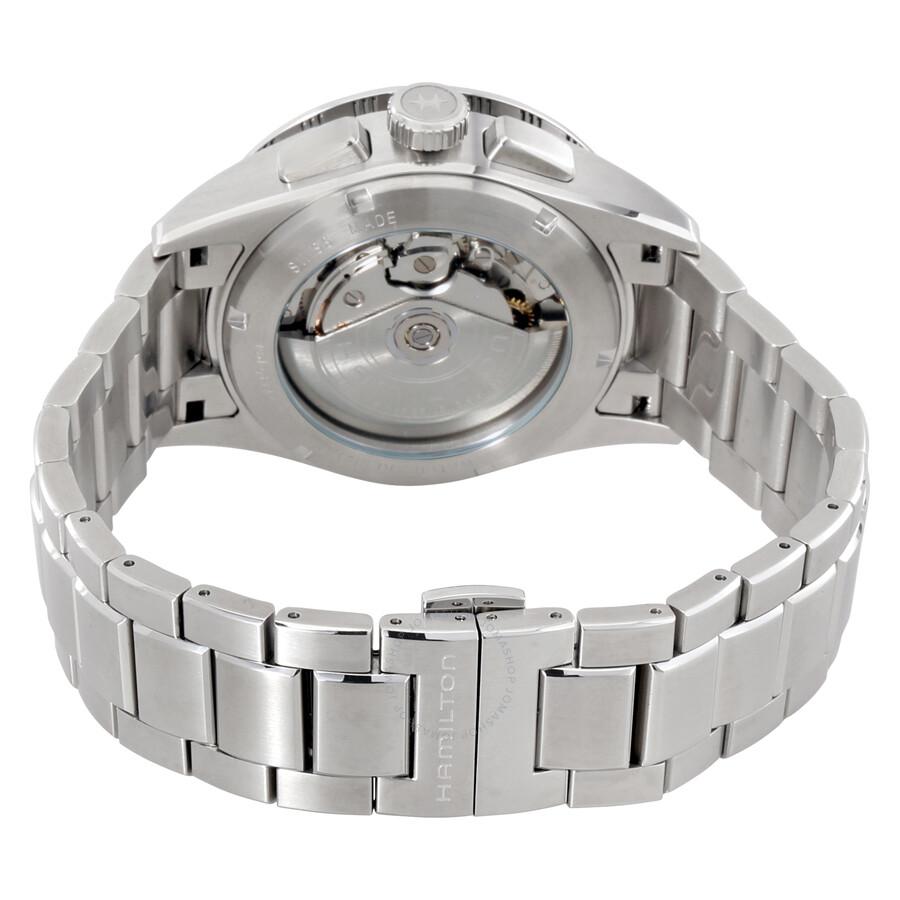 dcb204198 ... Hamilton Broadway Auto Chrono Grey Automatic Men's Watch H43516131