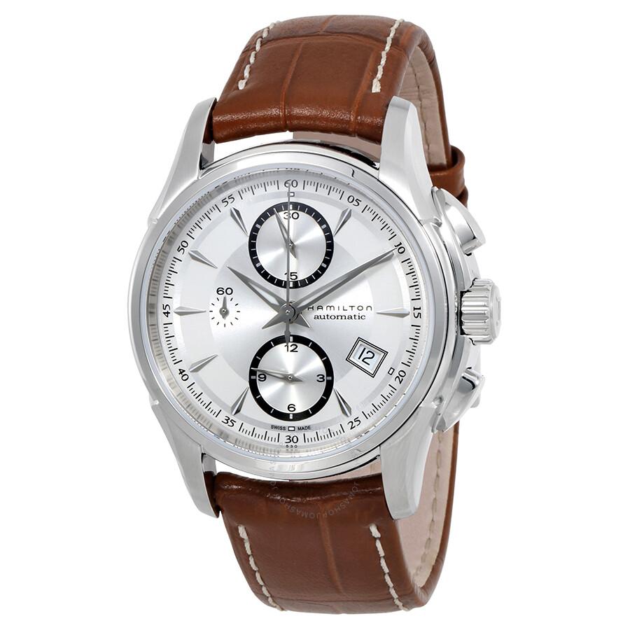 Hamilton Jazzmaster Auto Chrono Men S Watch H32616553 Jazzmaster Hamilton Watches Jomashop